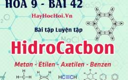 So sánh Axetilen, Etilen, Benzen, Metan về cấu tạo và tính chất hóa học - hóa 9 bài 42